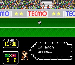 Capitulo 1: Partido introductorio contra el equipo de nombre impronunciable Tsubasa3103