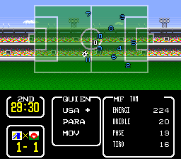 Partido 2: Copa de Francia Tsubasa3138