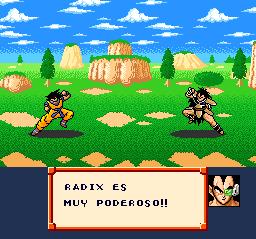 Capitulo 1: Contra Raditz, Radix o como coño lo escriban los traductores Dbzrpg136