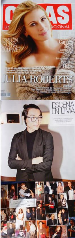 SMOOZ en la revista COSAS Peru Smooz-1