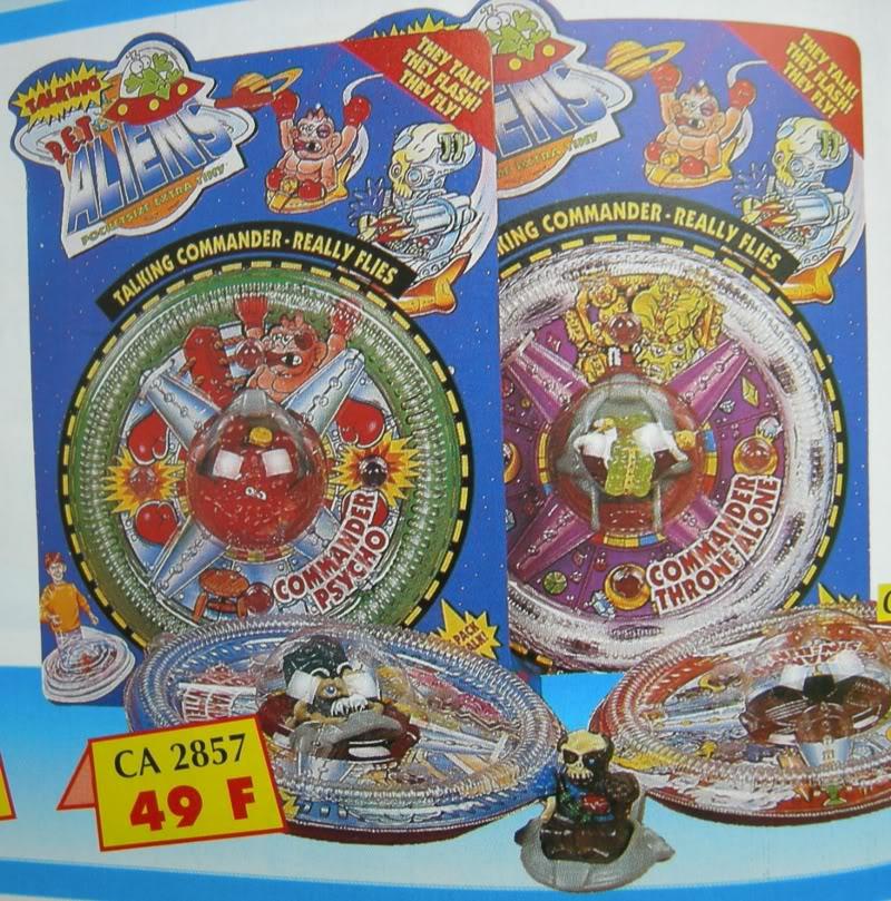 Comic Alien 1993 , petites figurines en PVC PETA_Mag_One_Large
