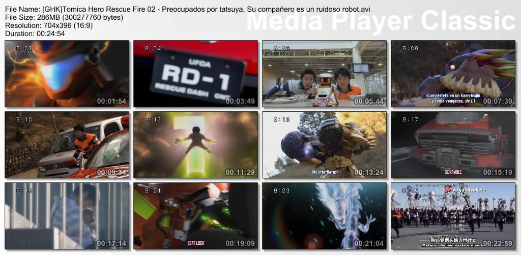 [GHK] Tomica Hero Rescue Fire 02/51(SUB ESPAÑOL) GHKTomicaHeroRescueFire02-PreocupadosportatsuyaSucompaeroesunruidosorobotavi