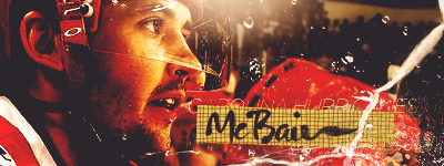 Caroline Hurricanes. Mcbain