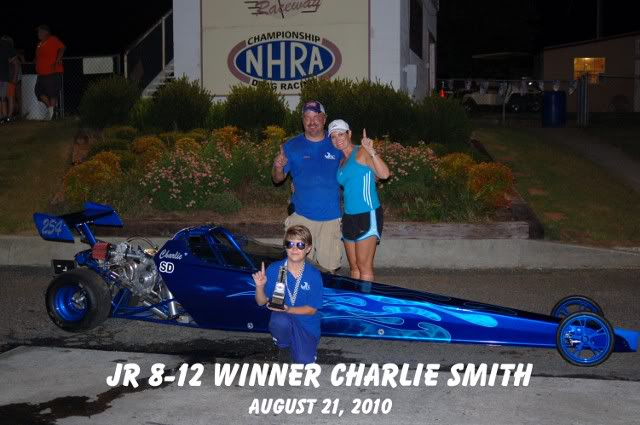 Why I can't come to shows......Yeah thats three in a row !!!!!! CharlieSmith8-21-10