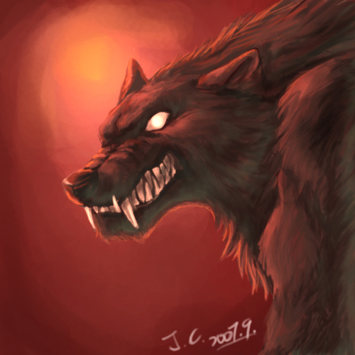 Damien Knight Angry_werewolf_by_J_C