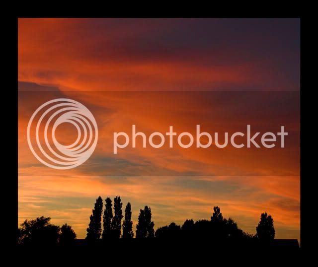 Sunset over Greywell Sunsetovergreywell