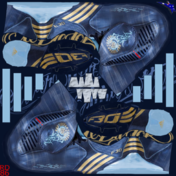 Adidas F30i TRX FG Messi - New Navy/Metallic Gold/Argentina Blue F30iMessi
