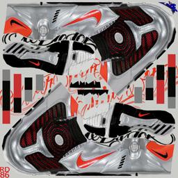 Nike Total90 Laser II FG - Metallic Silver/Challenge Red/Black Laser2SilRed