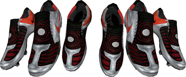 Nike Total90 Laser II FG - Metallic Silver/Challenge Red/Black Laser2SilRedPRE