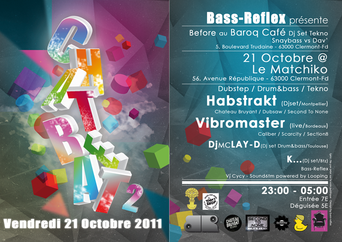 21 Oct 2011 CHAT BEAT 2 ( HABSTRAKT / VIBROMASTER / Dj Mc Lay-D / K... ) RetVnet