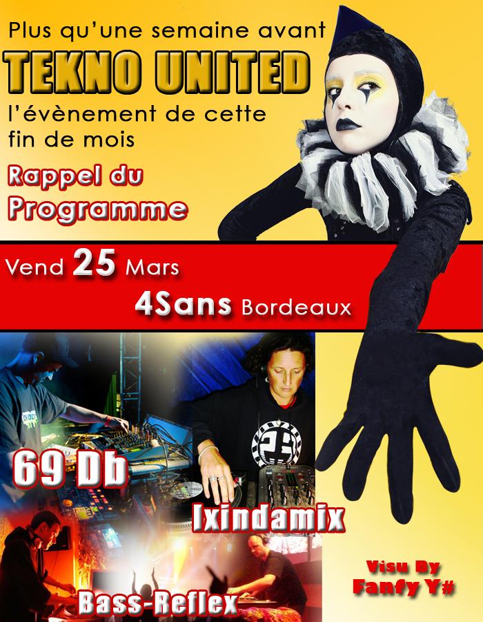 69Db Ixindamix Bass Reflex @ 4sans Vend 25 Mars Newsletter