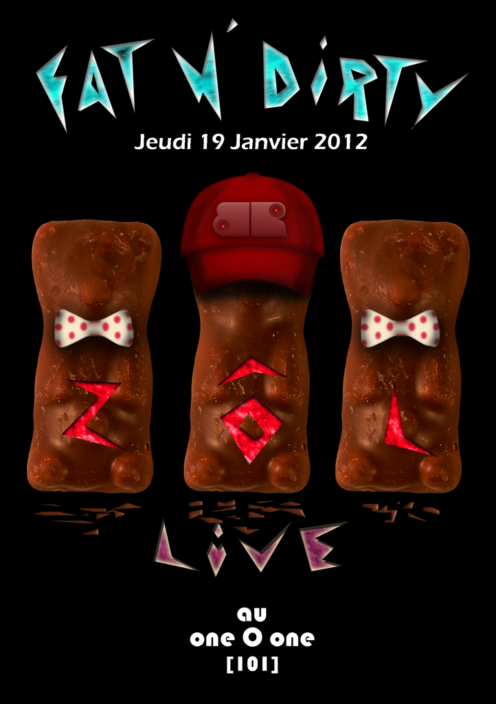 FAT'N DIRTY w/ ZÔL @ ONE O ONE (101) by Bass Reflex 19/01/2012 (63) Zolfly