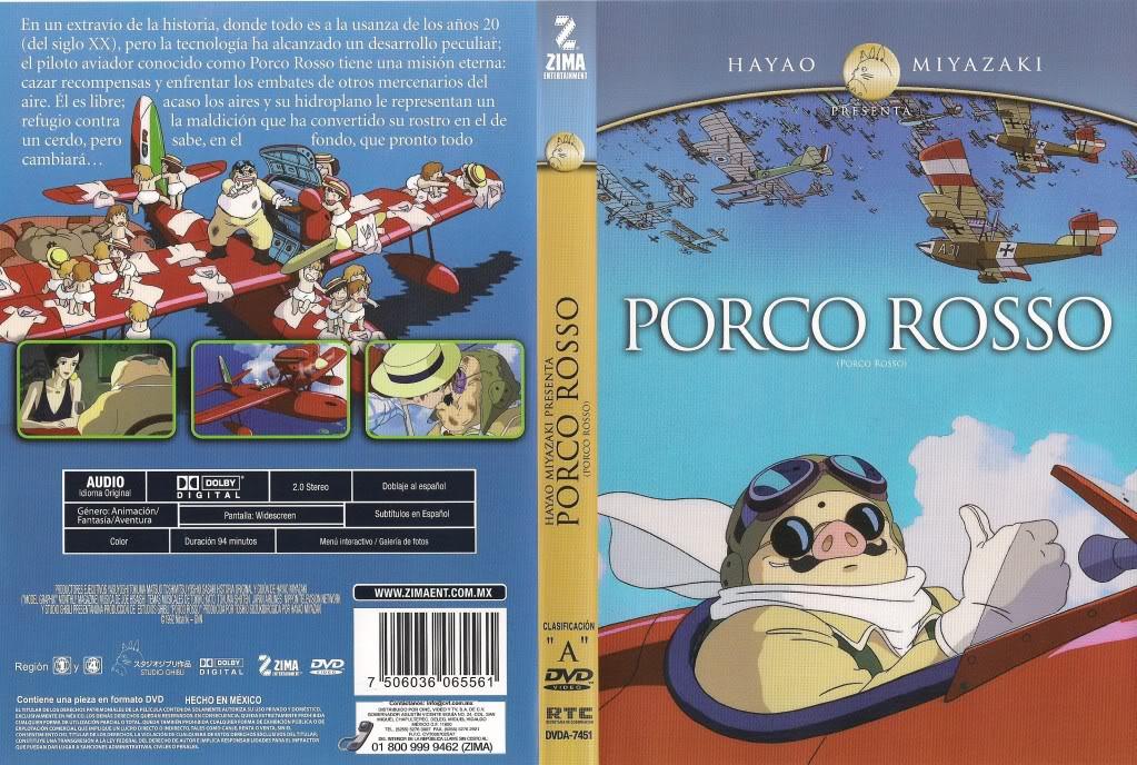 Porco Rosso – O Último Herói Romântico (Kurenai No Buta) 1992 001