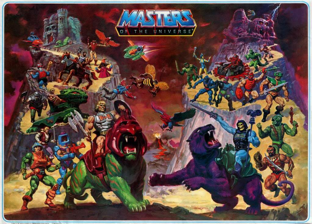 He-man and Masters of the Universe Stripovi. Masters_of_the_Universe