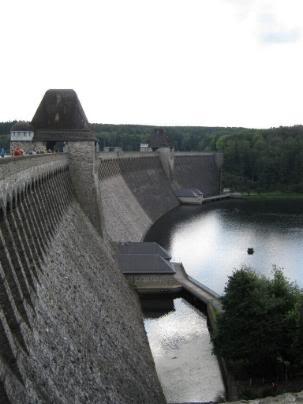 Der Mohnesee Dam! Dam