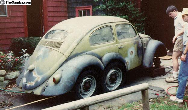 Sightings: Kinda like UFOs only for VWs instead. 6wheelbug