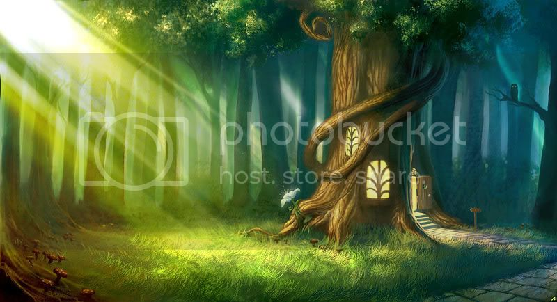 New Banner Magic_Forest_by_camilkuo