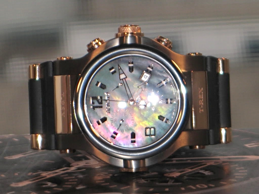 Watch-U-Got On 12/3/11 J177208-RenatoCollezioniT-RexMother-of-PearlBlackChronographWatch