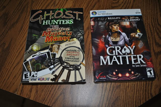Spend, spend, spend!!! - Tell us about the GAMES you've bought, found, or .... whatever! :-) - Page 3 GHOSThuntersandGrayMatter