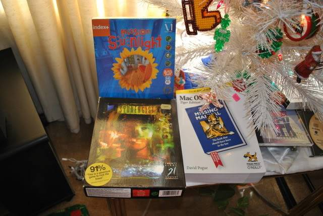 Spend, spend, spend!!! - Tell us about the GAMES you've bought, found, or .... whatever! :-) - Page 38 Xmas2011stuff001