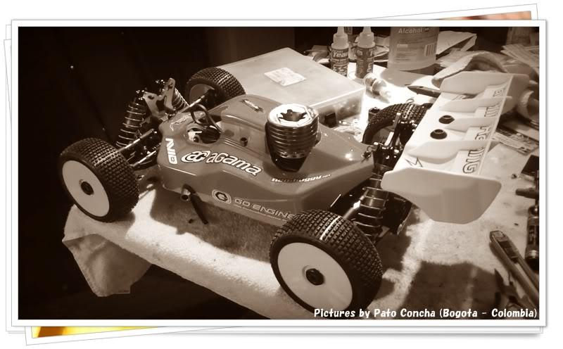 Montaje Agama A8 EVO Buggy 1/8 Nitro AgamaA8EVO_142_2012