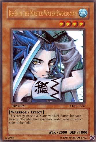 Nick's Made Up Cards, The Shin Brothers Ke-Shin