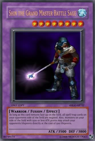 Nick's Made Up Cards, The Shin Brothers Shin