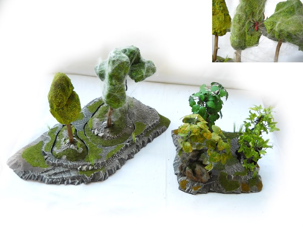 Warhammer 8th edition terrain on eBay Forestmain