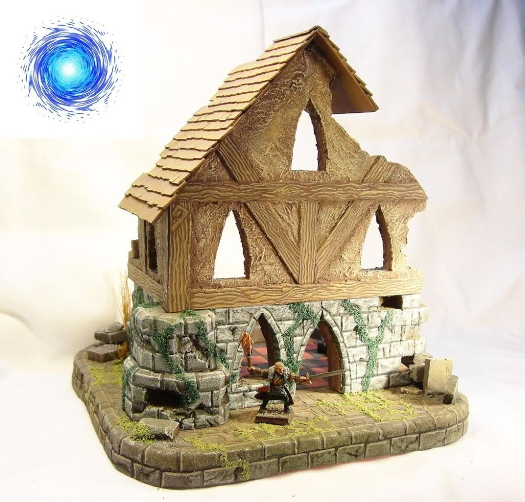 Ruined fantasy house on sale Frontside