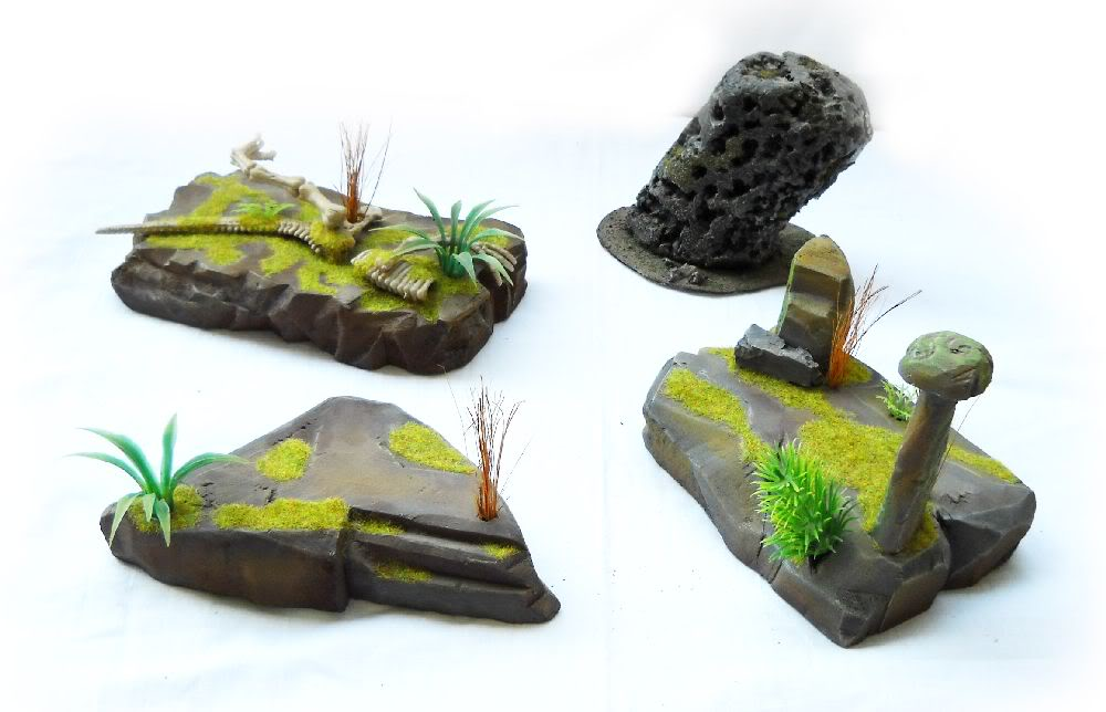 Warhammer 8th edition terrain on eBay Junglemain