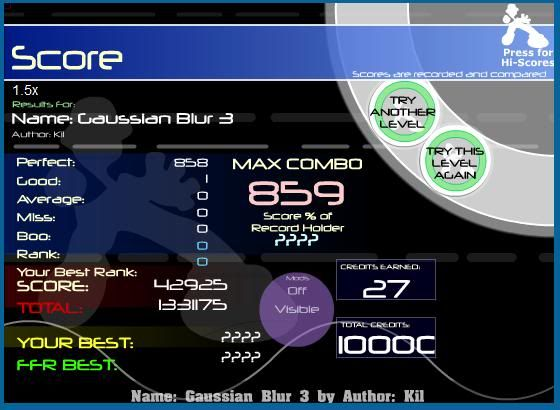Post your FFR Scores here! - Page 18 Gaussian
