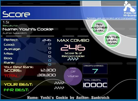 Post your FFR Scores here! - Page 18 Yoshi