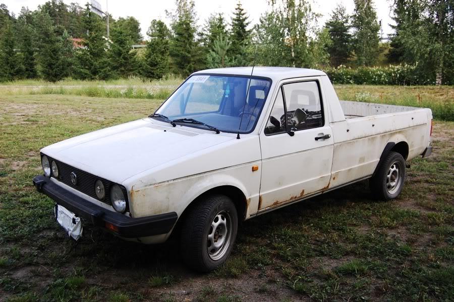 Epin puuhastelukeskus esittää: Madallettu pick-up ja herrain edustusauto Caddy1-2