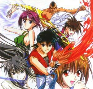 Flame of recca A985