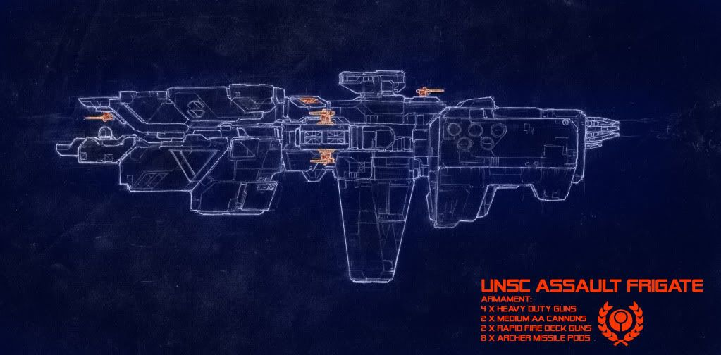 Everyday Art - Whatever month it currently is - Page 6 UNSCassaultfrigate-3