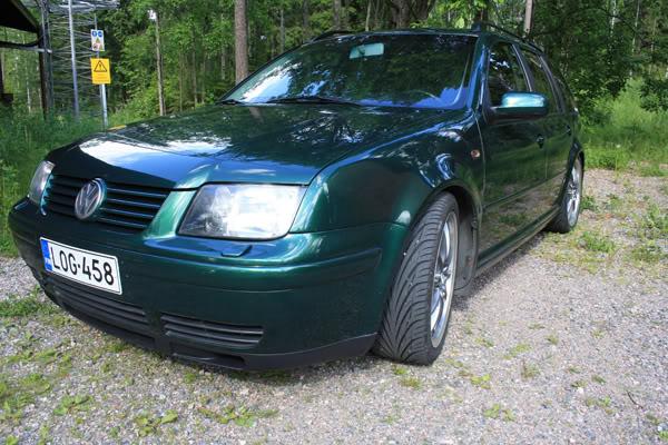 juh-o: Bagged familywagon VW Bora/golf IV UTE Borapictures016