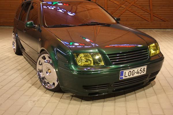 juh-o: Bagged familywagon VW Bora/golf IV UTE Nisukkaa013