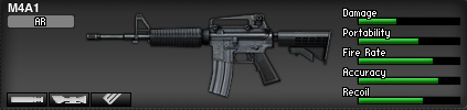WEAPON STATS WANTED! M4A1