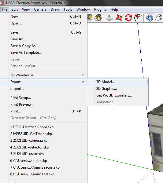 [ENG][DE] SketchUp to Blender [PDF] T2-1