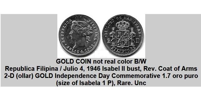 Info on '46 $2 token RepublicaFilipinas1946_meg