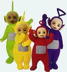 Angels vs demons Teletubbies