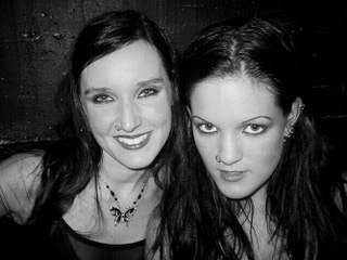 With Other Bands Nell_and_Henriette_Sirenia_posing