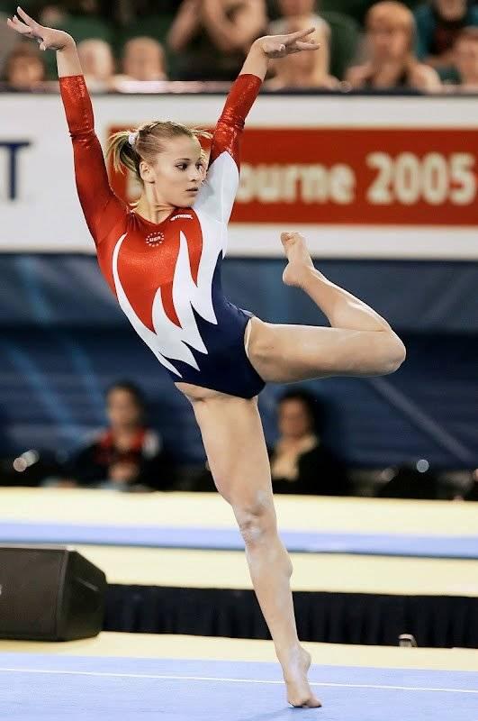 Alicia Sacramone - Women's Gymnastics 5-1