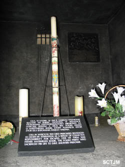 Auschwitz Maximiliano_celda