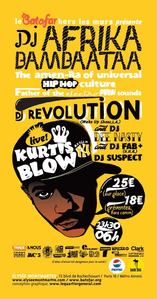 AFRIKA BAMBAATAA - KURTIS BLOW - DJ REVOLUTION - DJ SUSPECT - DJ FAB VersoAFRIKABAMBAATAA10x20-def5