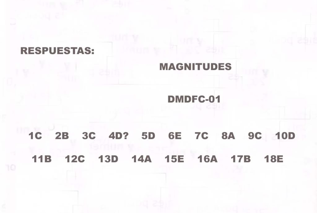 Pedro de Valdivia 2010 Física Común con claves! FC1magnitudes
