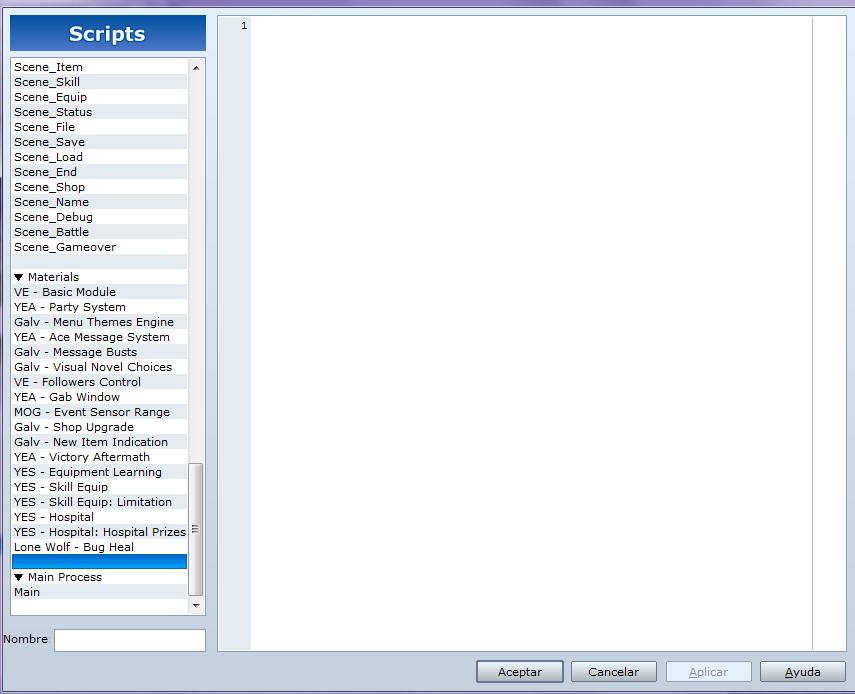 Agregar nuevos Scripts al proyecto Scripts3_zpsf4ffe6e3