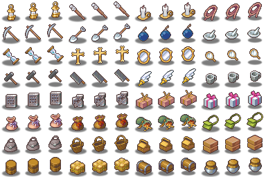 [VX] Íconos como characters Tool%20and%20Treasure%20Icons%20Floating_zpseluevxbs