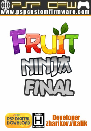 [Juego Homebrew] Fruit Ninja versión final para PSP[MU/MF] FruitNinjaFinal