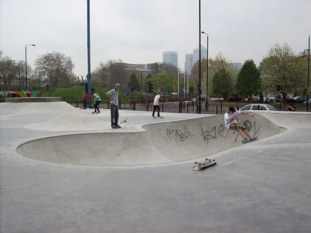 Latest Gravity Park - Pics MileEndPool1